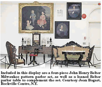 Victorian parlor furniture for Furniture history society