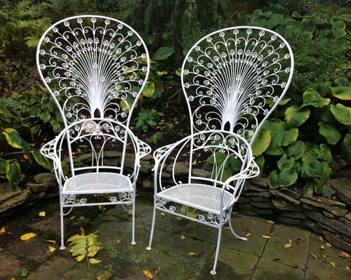 Salterini Peacock Patio Chairs