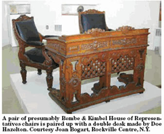For Her Part, Bogart Said She Was Totally Surprised To Find That The Museum  Did Have A Pierce Carved Parlor Set In The Milwaukee Pattern, But That Was  Not ...